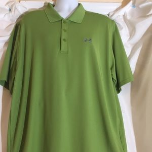 Under ArmourXXL Green Polo Shirt Loose Fit